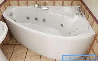 Ванна со смесителем – оригинальное и практичное решение