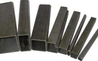 Сортамент профильных труб: подбираем материал по параметрам