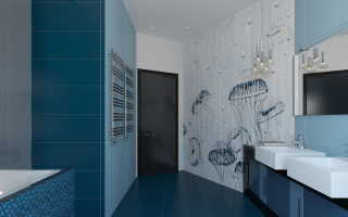 DIY: 5 идей ванных комнат, в дизайне которых используется морская тематика