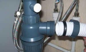 Подключение умывальника к канализации – все, что следует знать об этом виде работ