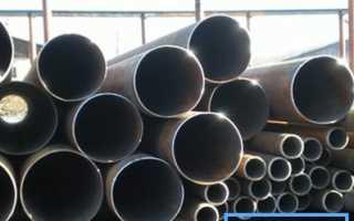 Диаметры стальных труб: изучаем стандарты