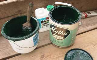Как правильно разбавлять водоэмульсионные краски?