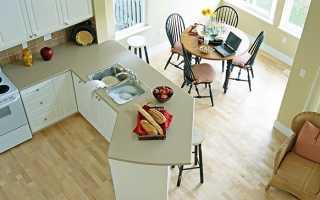 Как за 15 тысяч рублей превратить кухню в уютную и функциональную комнату
