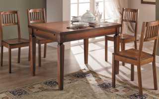 7 элегантных классических столов для кухонной зоны