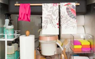 Шкафчик под раковину — как выбрать или сделать своими руками