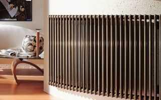 Радиаторы отопления: виды и принципы выбора