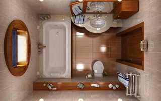 Обновляем ванную в доме: как увеличить пространство в ванной комнате