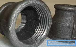 Муфты для труб: разновидности и материалы изготовления