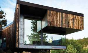 Как быстро и красиво сделать фасад для дома из обожженной доски