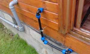 Дачный водопровод из ПНД: устройство, достоинства решения, правила монтажа