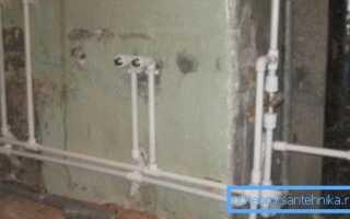 Полипропиленовые трубы для водопровода в доме