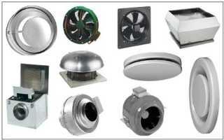 Вентиляторы для вентиляции: обзор основных конструкций и методика подбора по производительности