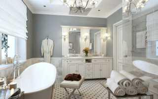 3 идеи для ванной в классическом стиле
