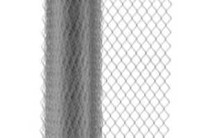 Забор из сетки рабицы своими руками: установка и изготовление