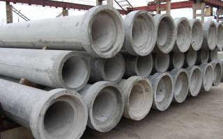 Бетонные трубы – виды, характеристика и использование