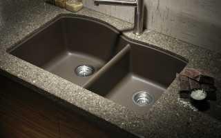 Современные аксессуары для раковины на кухне