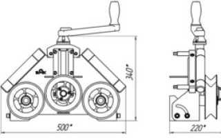 Вальцы для профильной трубы: виды, принцип работы, самостоятельное изготовление
