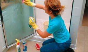 Чем чистить душевую кабину в домашних условиях: наиболее эффективные способы и средства