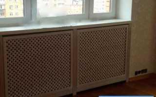 Решетки на радиаторы отопления – виды и их особенности