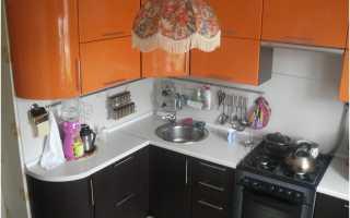 Приятный дизайн кухни 4 кв м в хрущевке