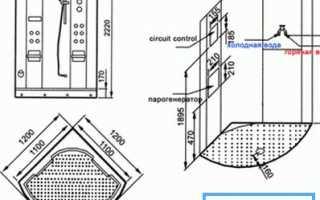 Душевая кабина 120 на 120: особенности и выбор
