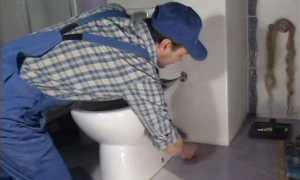 Установка унитаза своими руками: как обустроить уборную