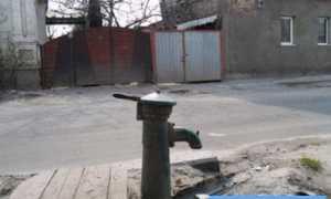 Водопроводная колонка для загородного дома