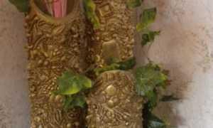 Создаем оригинальный декор: ваза из трубы своими руками