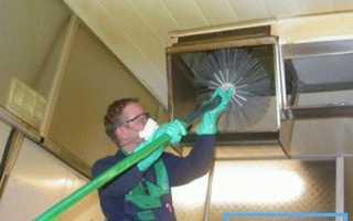 Профилактическое обслуживание вентиляционных установок