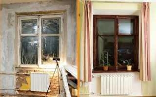 Как отремонтировать старые окна своими руками