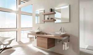 Тумба с раковиной для ванной 80 см: конструкция и дизайн