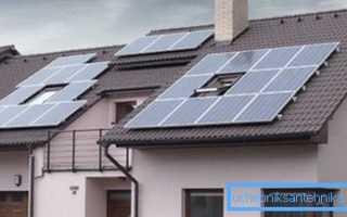 Солнечные батареи для отопления дома – виды и особенности