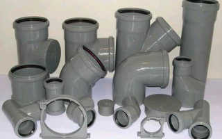Канализационные трубы и фитинги: выбор и применение