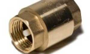 Все, что нужно знать про клапан для водопровода