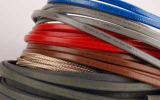 Какой бывает нагревательный кабель для водопровода