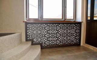 Экран для радиатора: выбор, изделия из металла, древесины, пластика и стекла