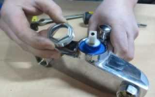 Что делать, если сломался смеситель в ванной: ремонтные работы