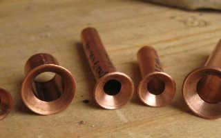 Развальцовка труб из меди: рассматриваем доступные инструменты и способы
