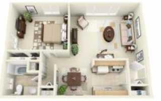 Кирпичная «хрущёвка»: 3 варианта безопасной перепланировки малогабаритных квартир