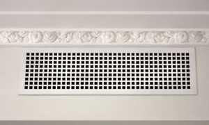 Вентиляционные металлические решетки – виды, особенности и установка