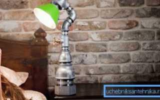 Изделия из водопроводных труб: находим новое применение популярному материалу