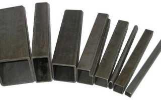 Стальная профильная труба: применение, стандарты, сортамент