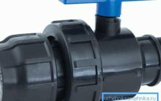 Что такое компрессионные фитинги для труб ПНД – назначение и область применения