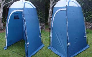 Туалет-душ для кемпинга и дачи: выбираем лучшее