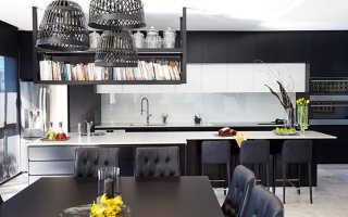 Как использовать черный цвет, чтобы создать потрясающую, изысканную столовую: 5 идей