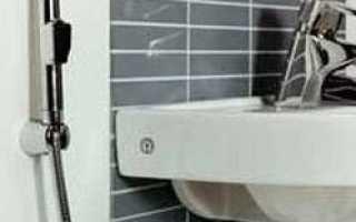 Смеситель для раковины с гигиеническим душем – критерии правильного выбора и рекомендации по монтажу