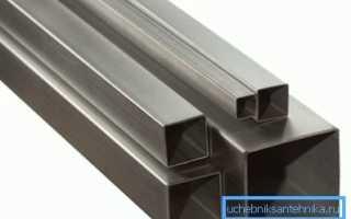 Квадратная труба – универсальный строительный материал