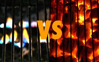 Готовим мясо качественно: газ или уголь