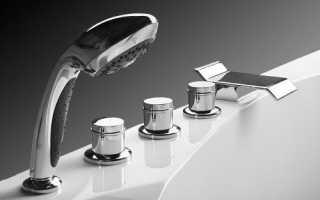 Выбираем кран для ванной: критерии