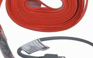 Обогревающий кабель для водопровода – ледниковый период в трубе откладывается